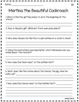 Reading Wonders Unit 3 Comprehension Pages Grade 3