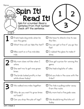 Reading Wonders Unit 3 Print It! Practice It!
