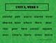 Reading Wonders Unit 3 Week 3 Spelling Task Cards