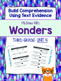 Third Grade Reading Wonders (Unit 4) Close Read Graphic Organizers