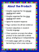 Third Grade Reading Wonders (Unit 4) Close Read Graphic Organizers