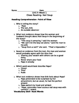 reading wonders unit 4 3rd grade workshop worksheets by mandi brian. Black Bedroom Furniture Sets. Home Design Ideas