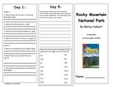 Reading Wonders Unit 4 Week 1 Leveled Reader Brochures