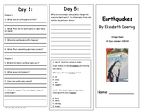 Reading Wonders Unit 4 Week 2 Leveled Reader Brochures