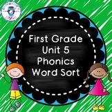 Unit 5 Phonics Word Sort