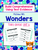 Third Grade Reading Wonders (Unit 6) Close Read Graphic Or