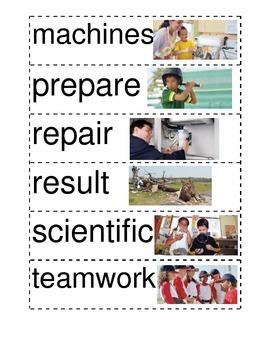 Reading Wonders 2nd Unit 6 Vocabulary Word Wall