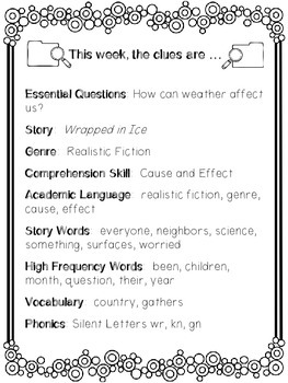 1st Grade Reading Wonders Unit 6 Week 3 Guided Reading & Analytical Writing Pack