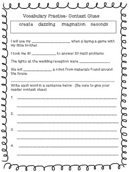 Reading Wonders Unit 6 Week 5 Activities 2nd Grade