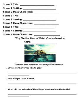 Reading Wonders Unit Four, Week Four Guided Reading Packet