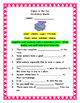Reading Wonders' Unit Two Bundled Leveled Book Work Packet