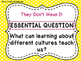 Reading Wonders 5th Grade  Unit and Essential Questions