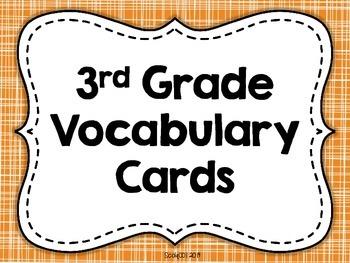 Wonders 3rd Grade Vocabulary