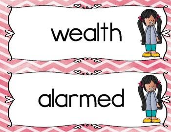 Reading Wonders: Third Grade Vocabulary Centers:Unit 6 Week 1