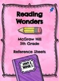 Reading Wonders- Weekly Glance Unit 2 Week 1