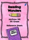 Reading Wonders- Weekly Glance Unit 2 Week 5