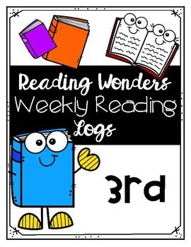 Reading Wonders Weekly Reading Logs