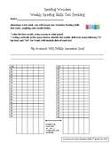 Leadership Binder Reading Wonders Weekly Reading Skills Test Score Tracking