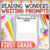 Reading Wonders First Grade- Weekly Writing Prompts