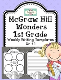 Reading Wonders Weekly Writing Templates, 1st grade Unit 1