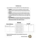 Reading Wonders Word Work (Unit 4 Week 3)