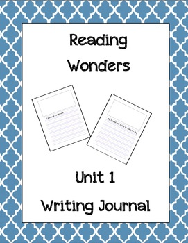 Reading Wonders Writing Journal All Units