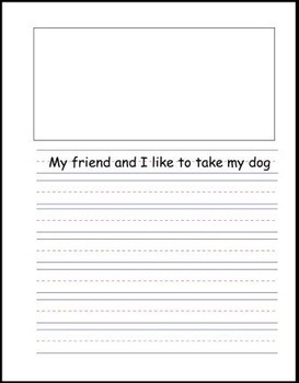 McGraw Hill Reading Wonders Writing Journal 1st Grade Unit 1