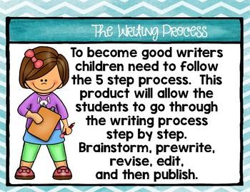 Reading Wonders Third Grade The Writing Process: Unit 5 Week 1