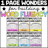 Phonics Drills Word Reading Fluency -Growing- BUNDLE