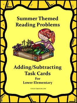 Reading Word Problems for Lower Elementary: Adding and Sub