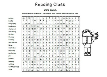 Reading Word Search