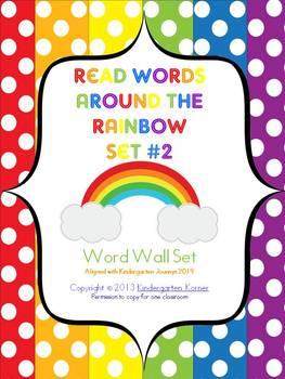 Reading Words Around the Rainbow - Journeys