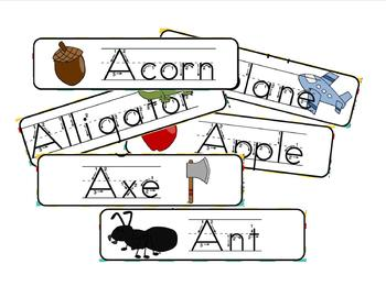 Easy Reader Words Cards