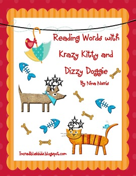 Reading Words with Krazy Kitty and Dizzy Doggie