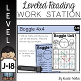 Boggle Board Game with Recording Sheet