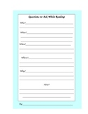 Reading: Worksheet 6 Questions to Ask