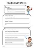 Reading Worksheets - Primary Education English