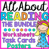 Reading Worksheets, Task Cards & Posters - BUNDLE