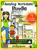 Reading Worksheets Bundle