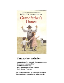 Reading Worksheetsfor Grandfather's Dance