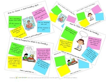 Reading Workshop 1 - Reader's Workshop - FLIPCHART - Post-it-note inspired