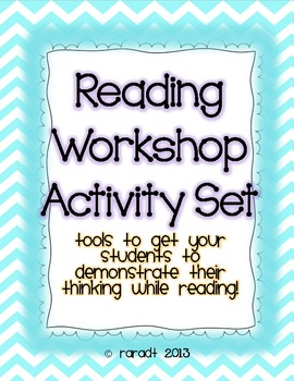 Reading Workshop Activity Set