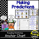 Reading Workshop Anchor Chart - Making Predictions + Reading Response pages