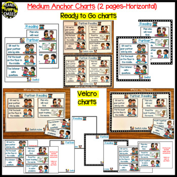 "Reading Workshop Anchor Chart - ""Partner Reading"""