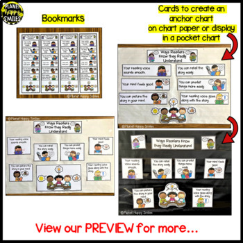 """Reading Workshop Anchor Chart - """"Ways Readers Know They Really Understand"""""""