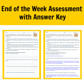 Reading Workshop Ask and Answer Questions Lessons for 5th Grade