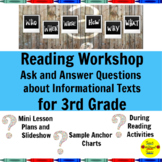 Reading Workshop Ask and Answer Questions about Informatio