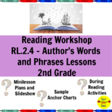 Reading Workshop Author's Words and Phrases Lessons for 2nd Grade