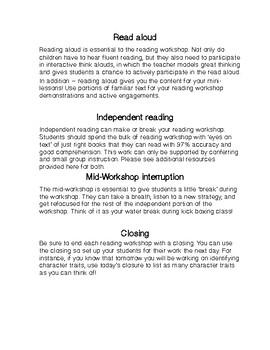 Reading Workshop Biography Unit Grade 3