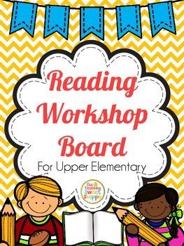 Reading Workshop Board *Editable*